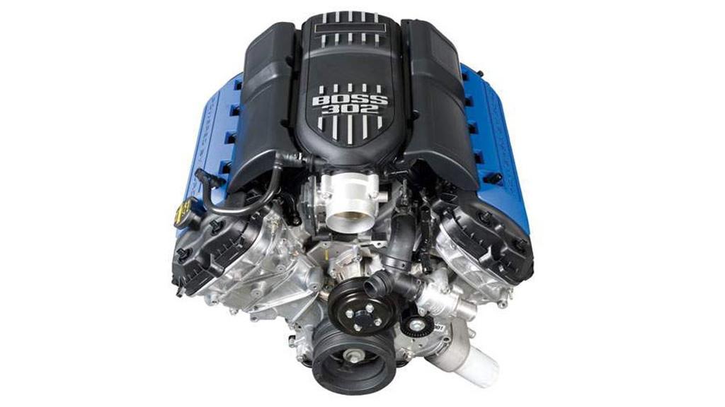 Ford Mustang Boss 302 5.0-liter V-8
