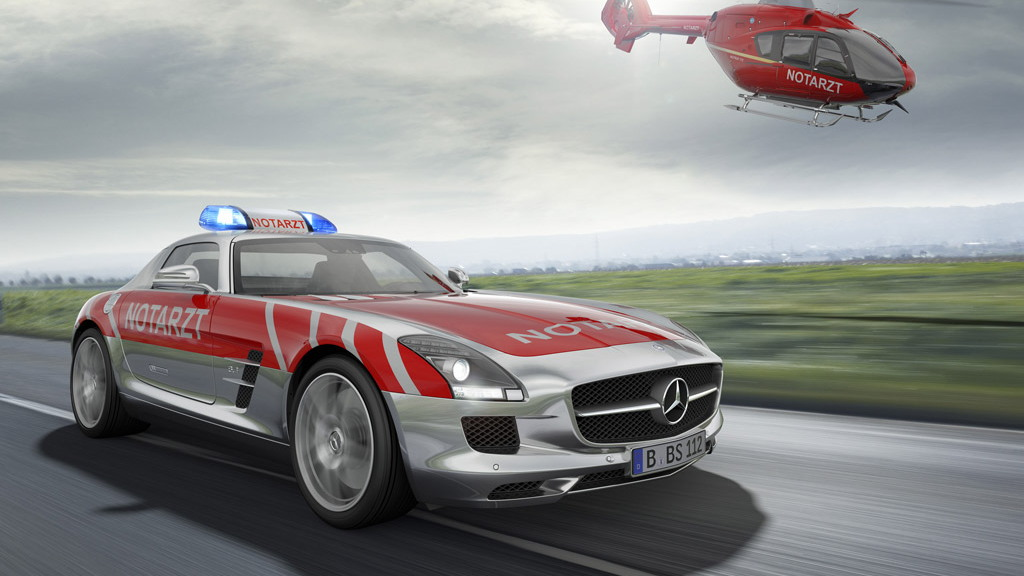 2011 RETTmobil Mercedes-Benz SLS AMG medical vehicle study
