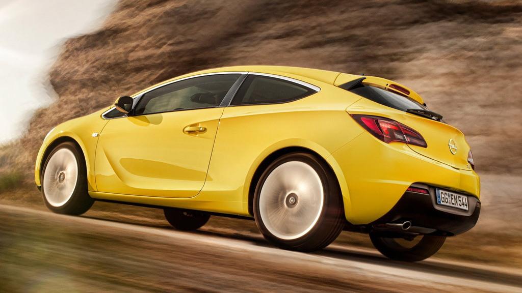 Opel Astra GTC three-door hatchback