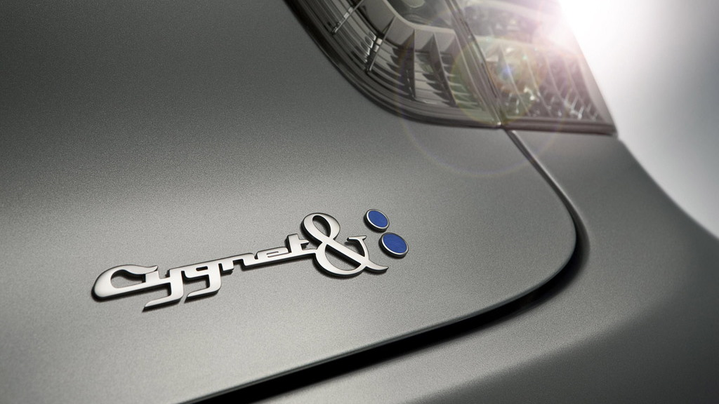 Aston Martin Cygnet & colette minicar
