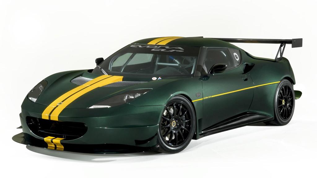 Lotus Evora Cup race car