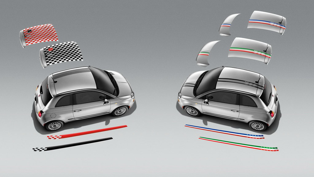 2012 Fiat 500 Mopar accessories range