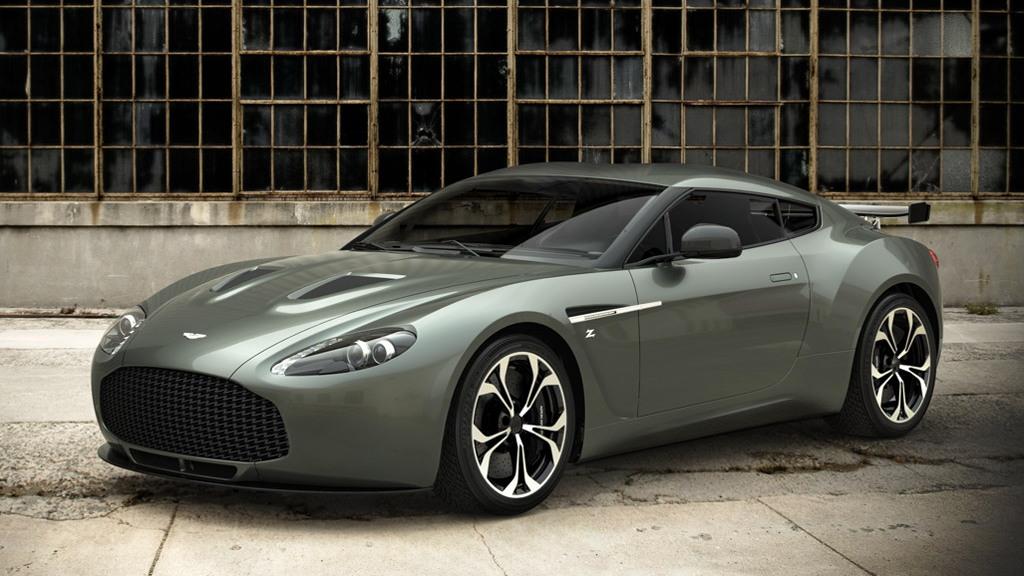 Road-going Aston Martin V12 Zagato