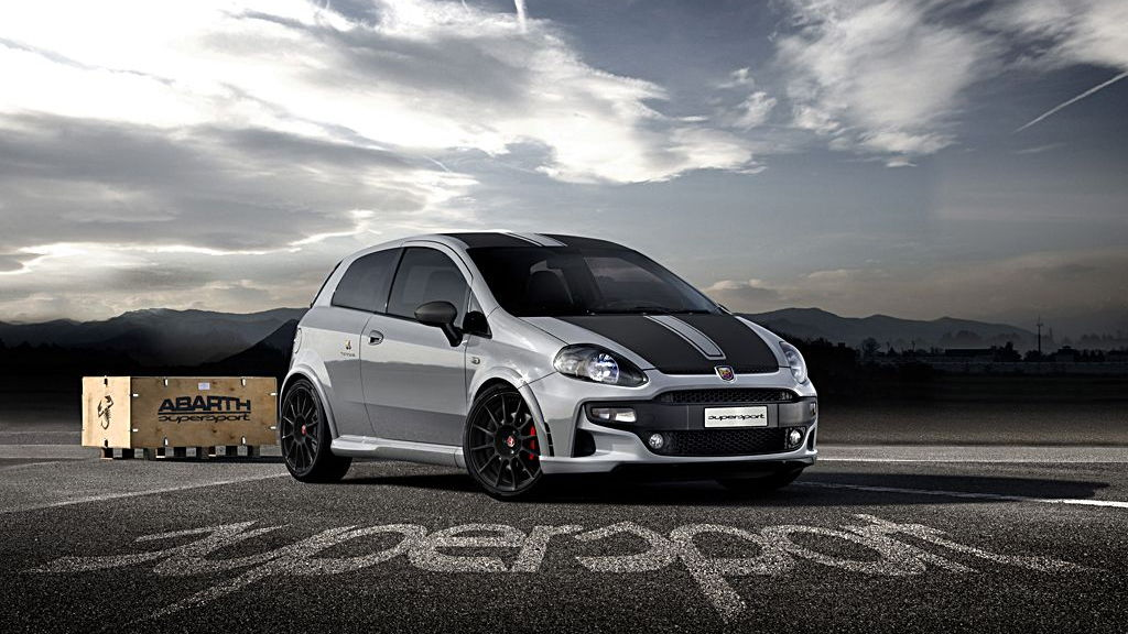 The Abarth Punto Supersport. Image: Fiat S.p.A