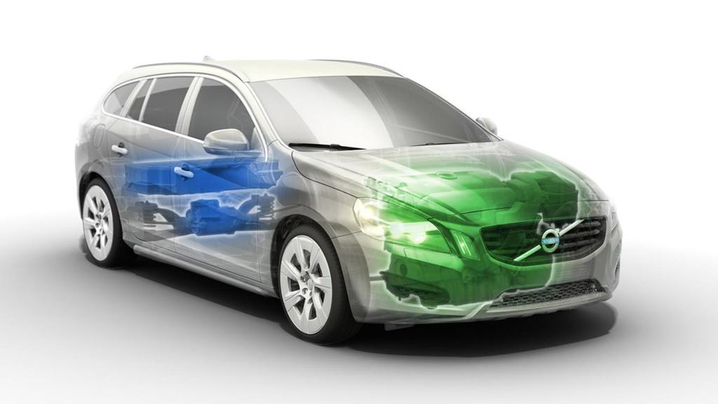 Volvo V60 plug-in hybrid prototype