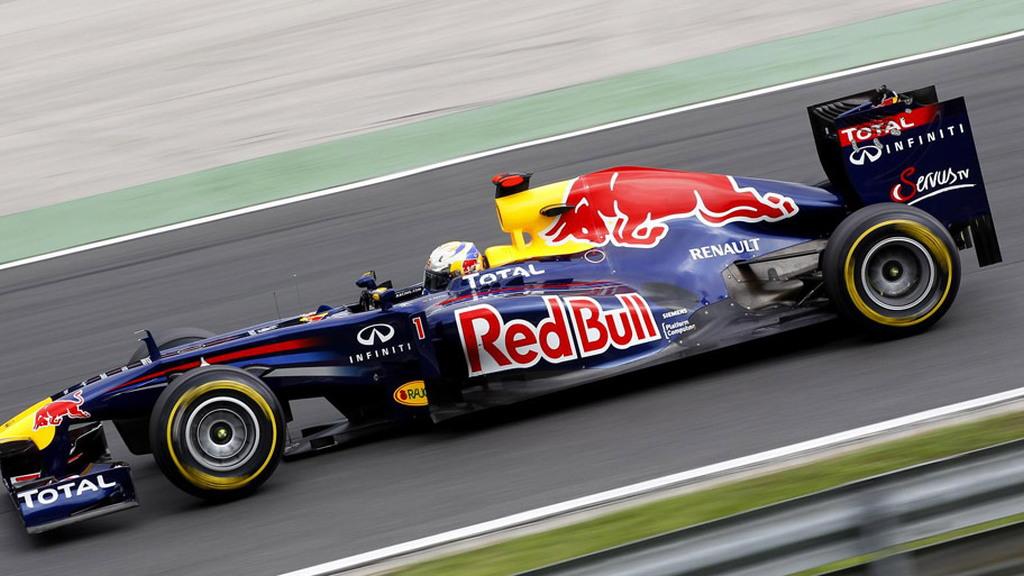Red Bull Racing at the 2011 Formula 1 Italian GP