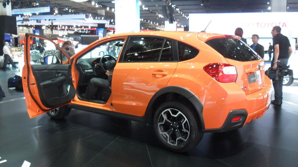 2012 Subaru XV live photos
