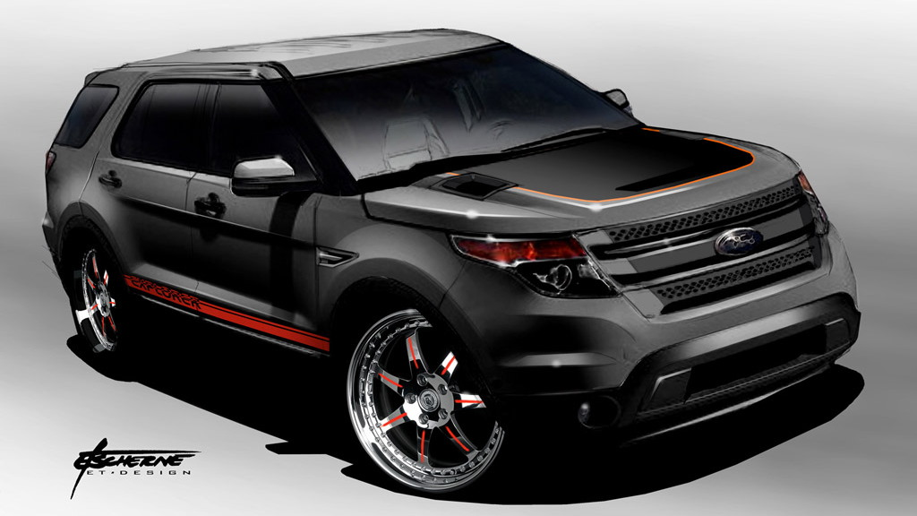 2011 Ford Explorer by Stitchcraft Interiors