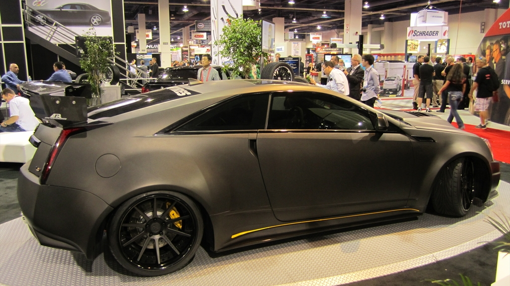 D3 Le Monstre Cadillac CTS-V Coupe wide-body. Photo by Autoholics.com.