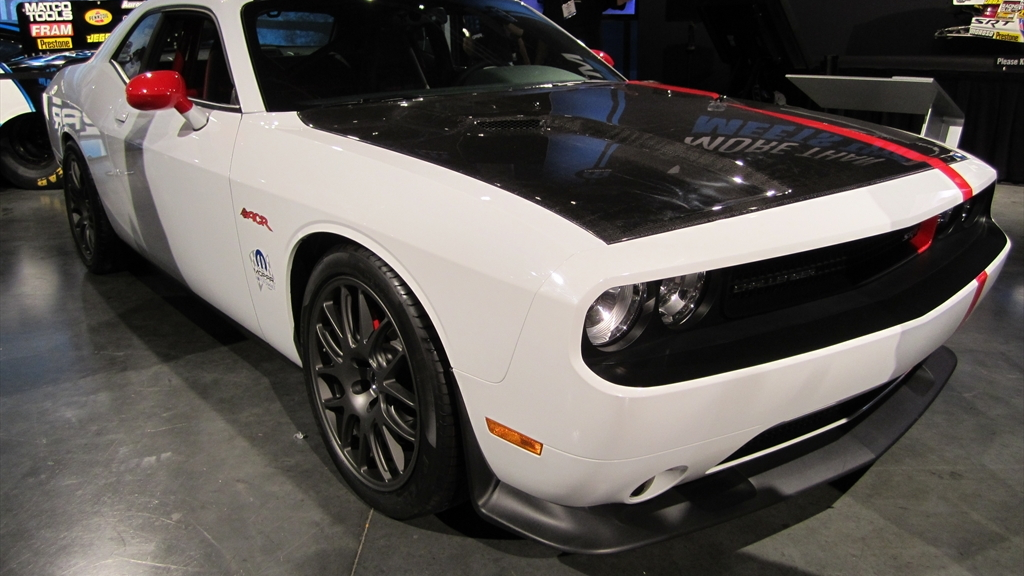 Dodge Challenger SRT8 ACR. Photos by Autoholics.com.