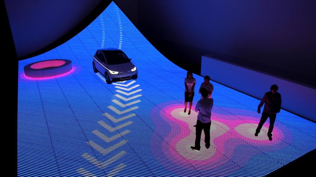 Audi 'Urban Future' exhibit at Design Miami 2011