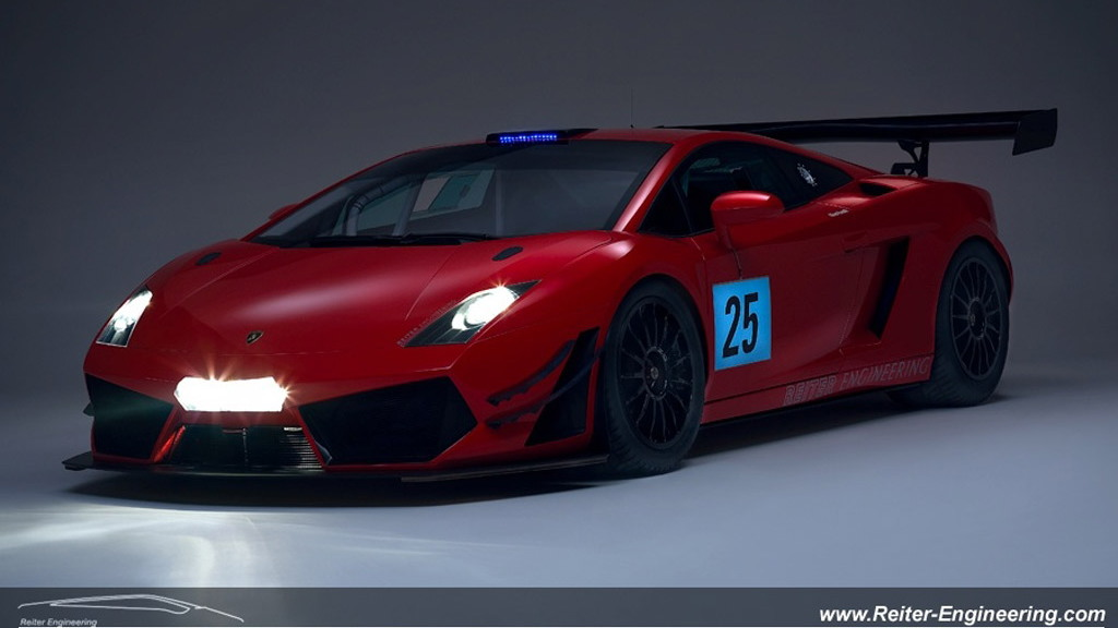 2012 Reiter Engineering Lamborghini Gallardo LP600+ GT3 race car