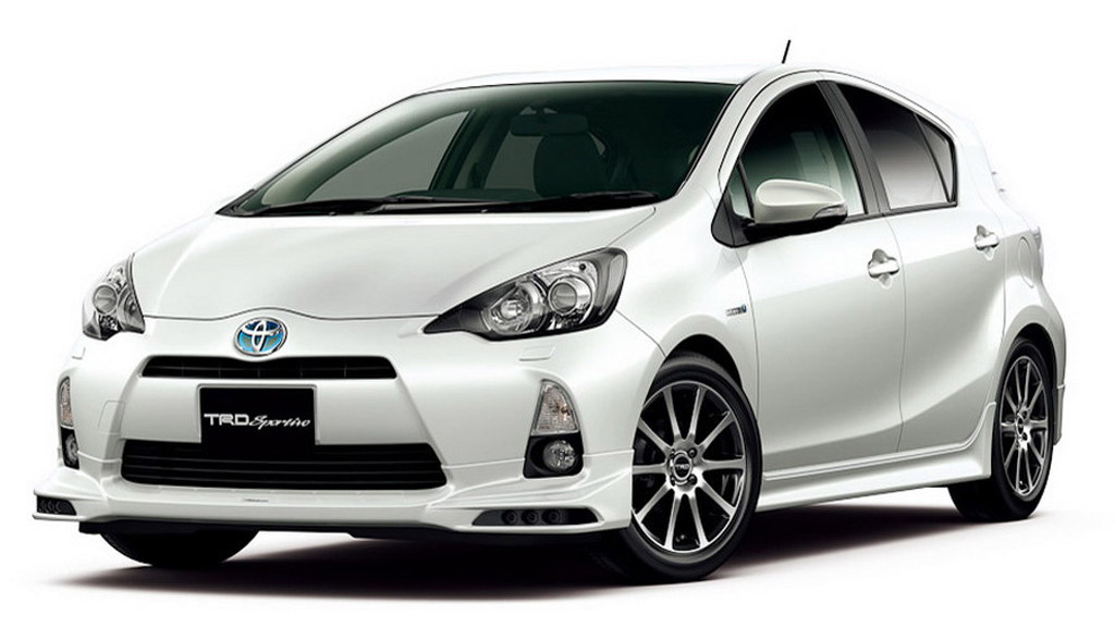 2012 Toyota Prius C Gets TRD And Modellista Enhancements In