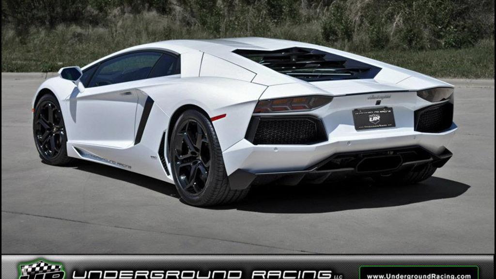 1,200-horsepower Lamborghini Aventador LP 700-4 built by Underground Racing