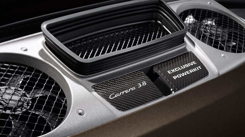 2013 Porsche 911 Carrera S equipped with Porsche Exclusive Powerkit