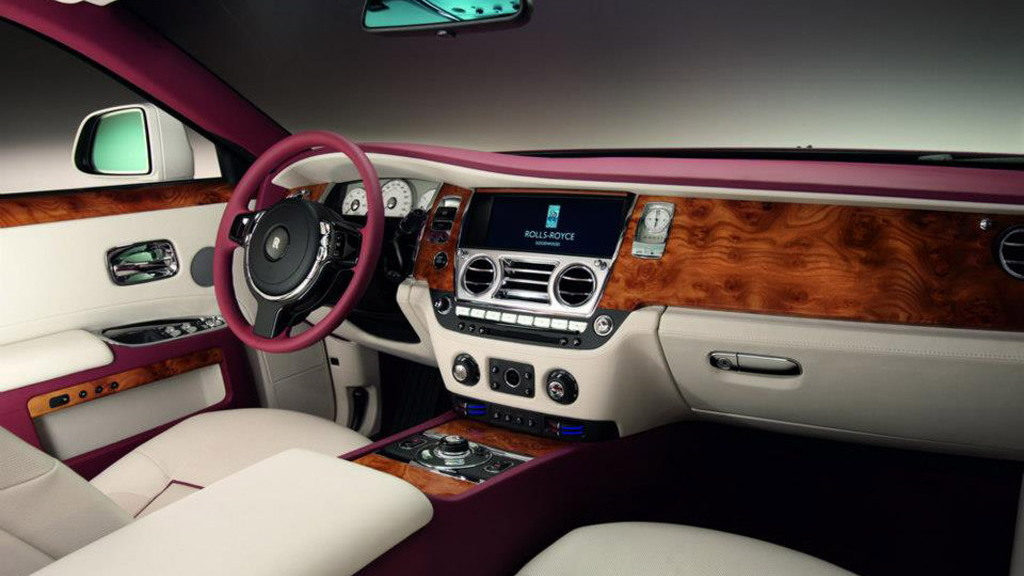 One-off Rolls-Royce Ghost built for Qatari client