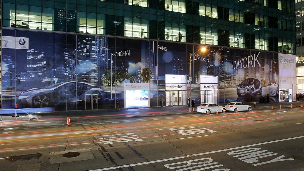 BMW i 'Born Electric' World Tour hits New York City