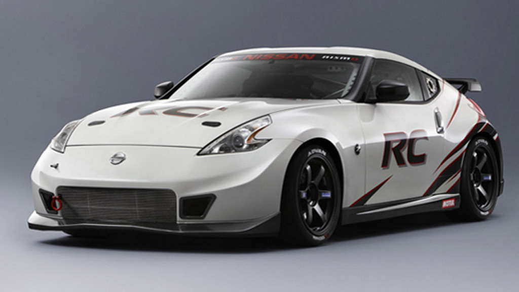 2013 Nissan 370Z Nismo race car