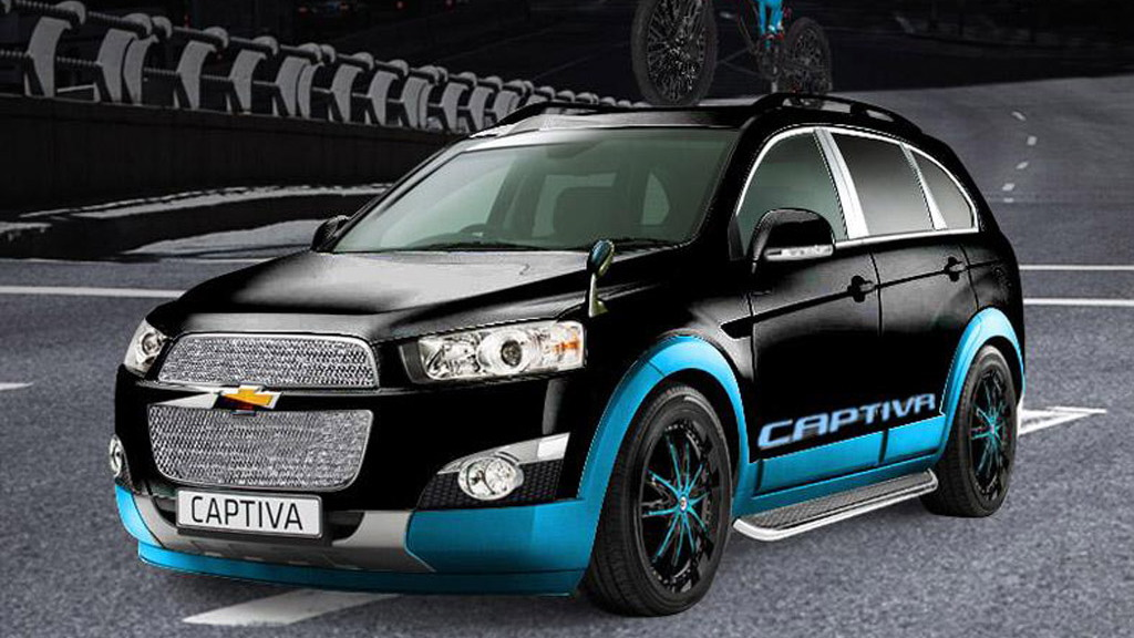 Chevrolet Captiva Freedom Rider, 2013 Tokyo Auto Salon