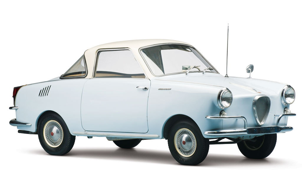 1959 Glas Isard 400 Coupe from the Bruce Weiner Microcar Museum [Photo: RM Auctions]
