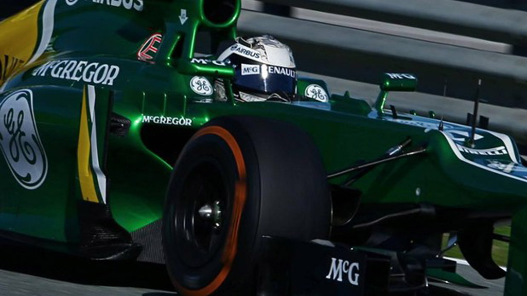 Caterham CT03 2013 Formula One race car