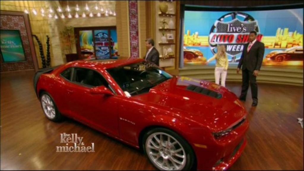 2014 Chevrolet Camaro leaked