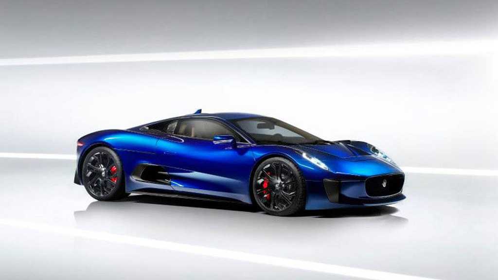 Jaguar C-X75 concept car