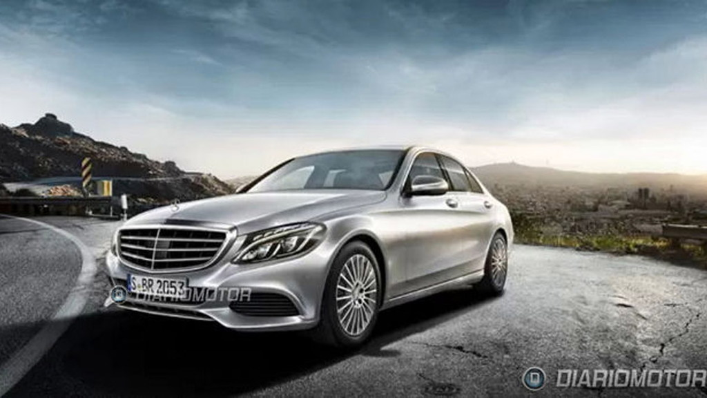 2015 Mercedes-Benz C-Class leaked - Image via Diariomotor
