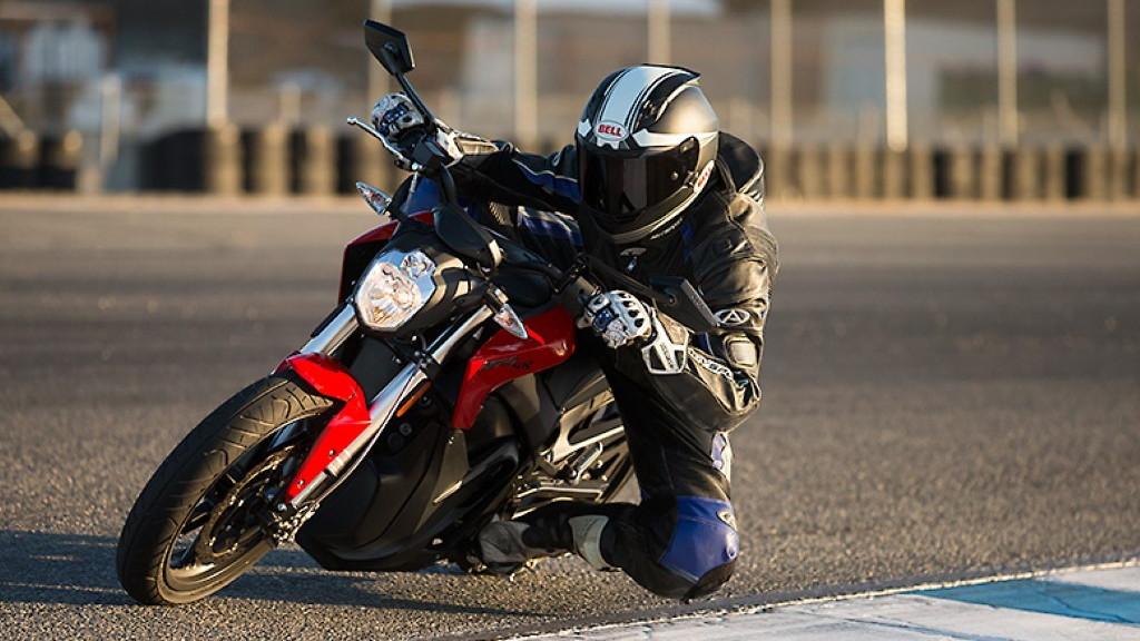 2014 Zero SR electric motorcycle