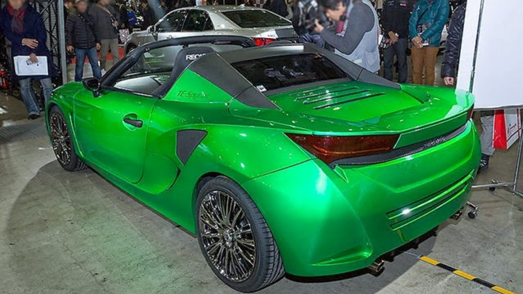 Toyota TE-Spyder 800 hybrid roadster concept