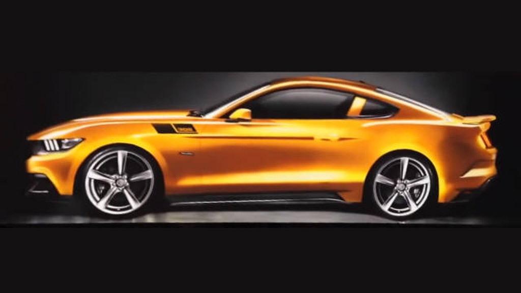 Teaser for 2015 Saleen S302 Mustang
