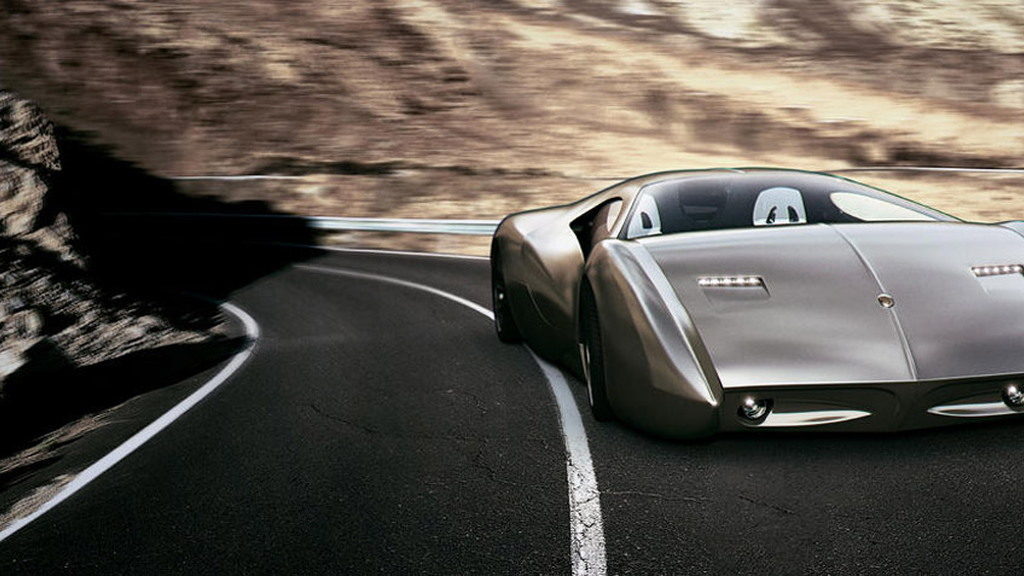 Lyons Motor Car LM2 Streamliner concept, 2015 New York Auto Show