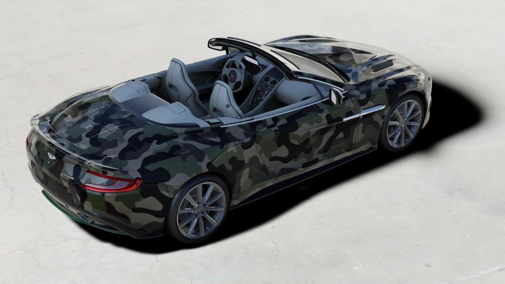 2015 Aston Martin Vanquish Volante by Valentino