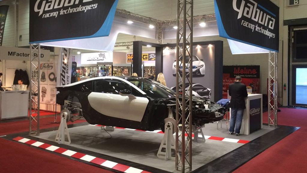 BMW i8 V-8 conversion by Gabura Racing Technologies