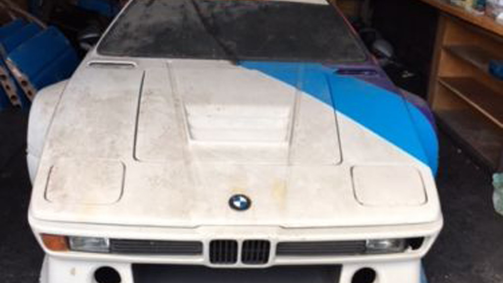 Alleged BMW M1 prototype - Image via eBay Motors