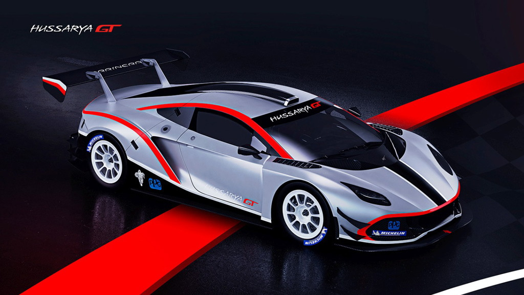 2017 Arrinera Hussarya GT race car