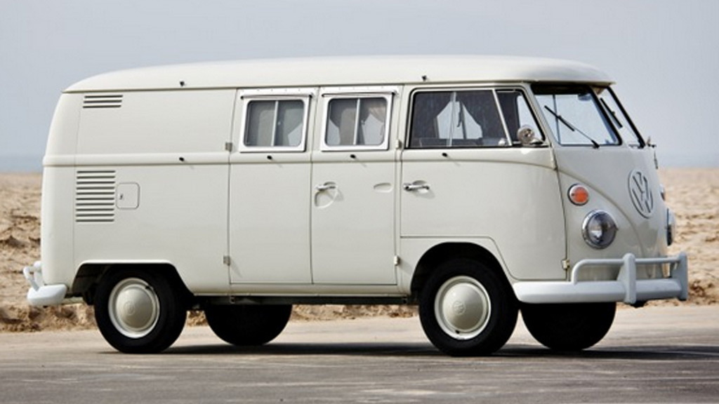 1964 Volkswagen Microbus from the Jerry Seinfeld collection - Image via Gooding & Company