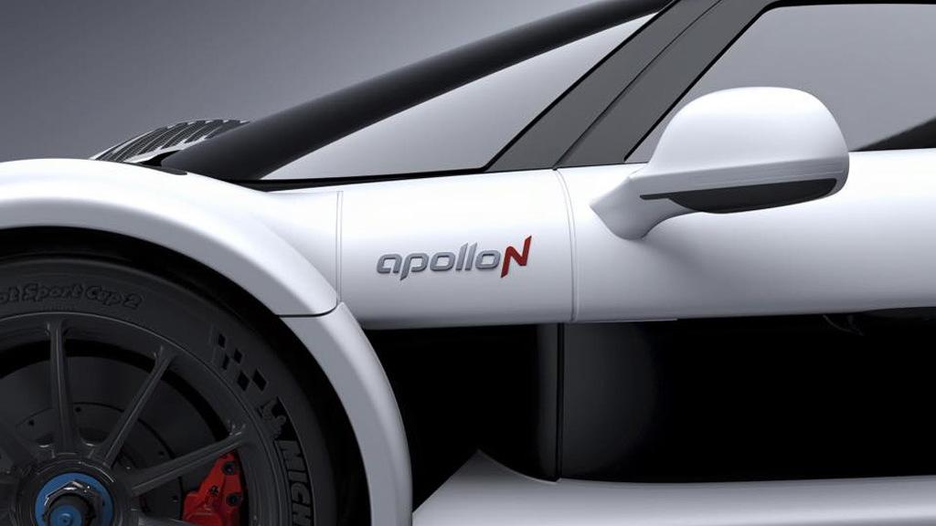 Teaser for Apollo N debuting at 2016 Geneva Motor Show
