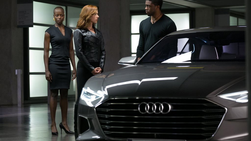 "Audi in ""Captain America: Civil War"""