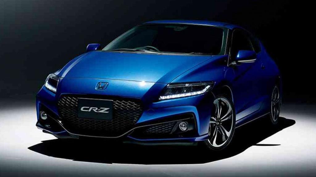 2016 Honda CR-Z Final Label (Japanese spec)