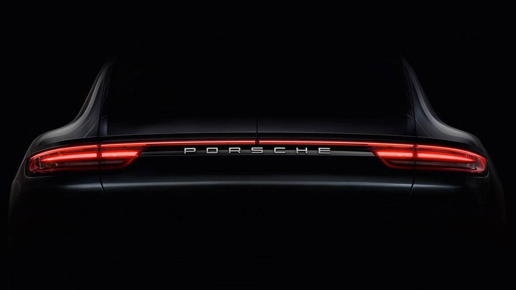 Teaser for 2017 Porsche Panamera