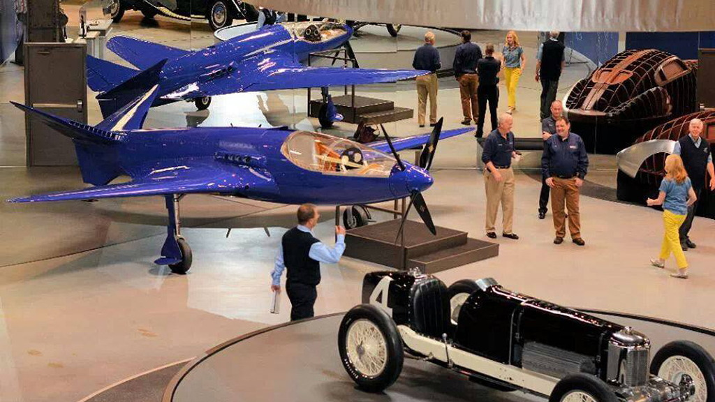 Original Bugatti 100P prototype - Image via The Bugatti100P Project Facebook page