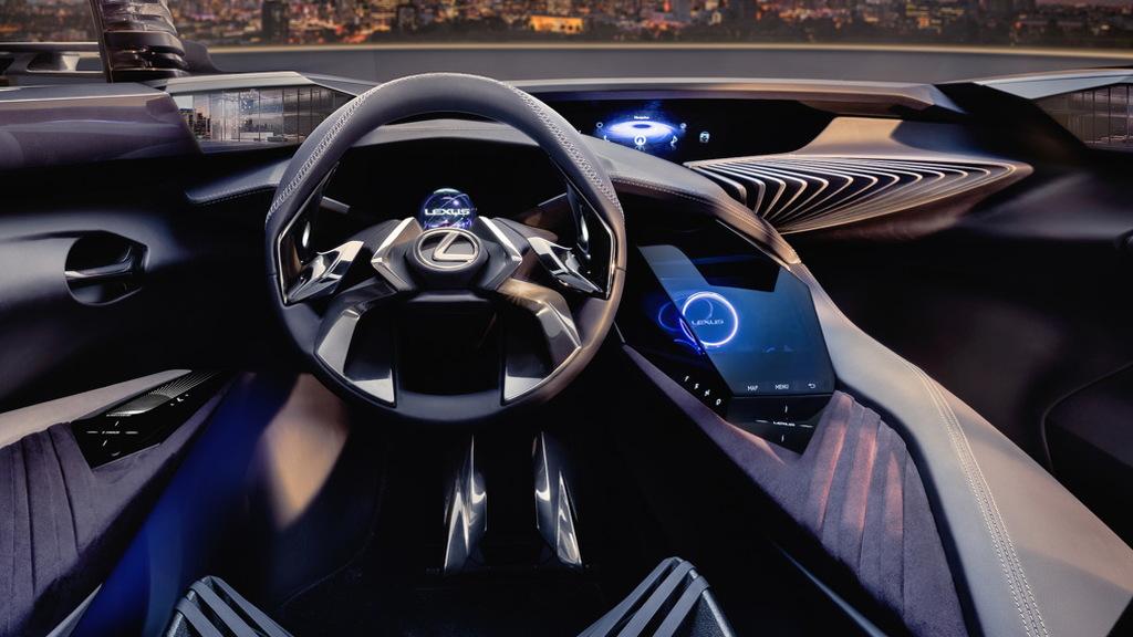 Teaser for Lexus UX concept debuting at 2016 Paris auto show