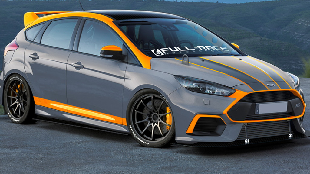 2016 Ford Focus RS by Full-Race Motorsports, 2016 SEMA show