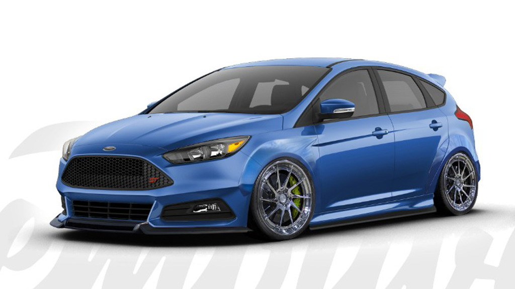 2016 Ford Focus ST by Cinemotive Media, 2016 SEMA show