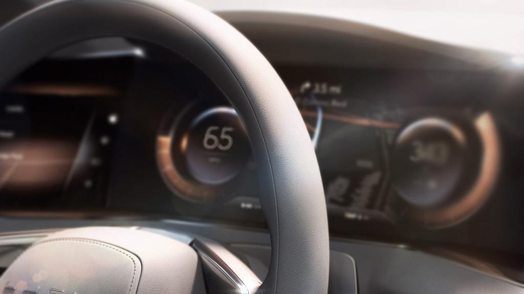 Teaser for Lucid electric car