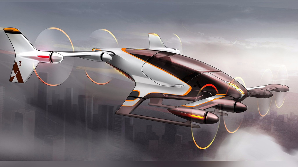 Vahana single-seat autonomous aircraft concept