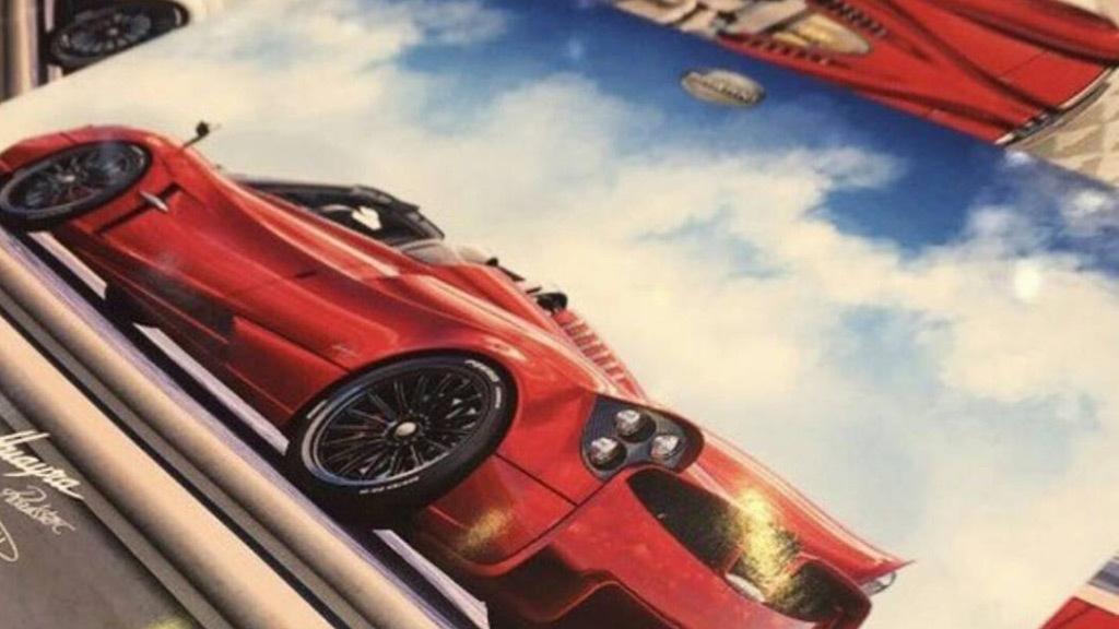 Pagani Huayra Roadster leaked