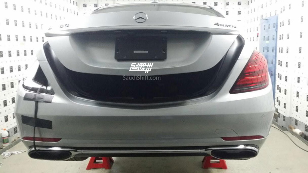 2018 Mercedes-Benz S-Class facelift leaked - Image via SaudiShift