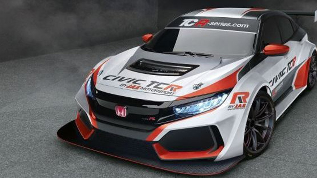2018 Honda Civic Type R TCR race car